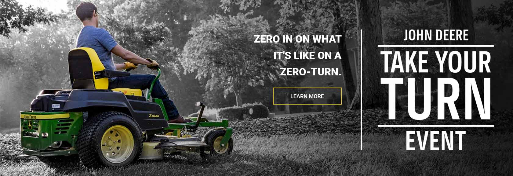 John Deere Take Your Turn Event - Zero in on what it's like